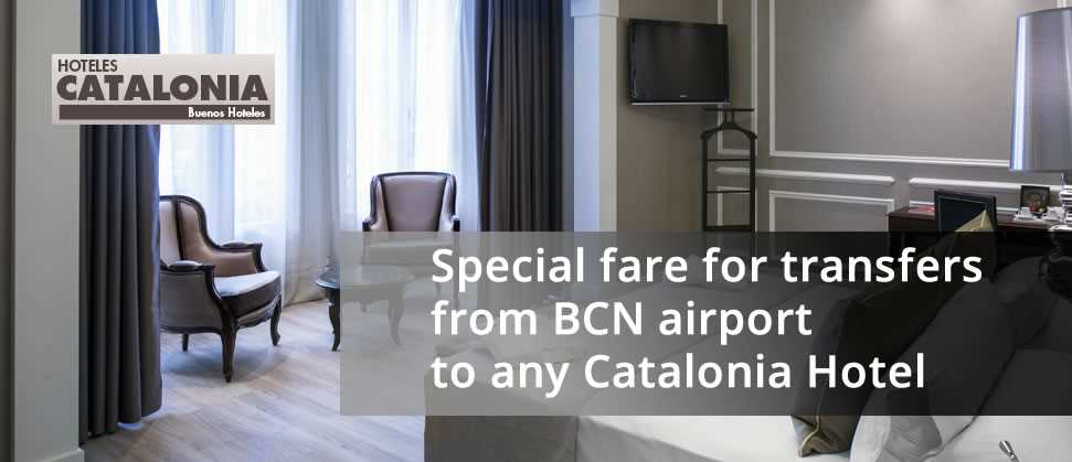 Transfers from Barcelona Airport to Catalonia Hotels