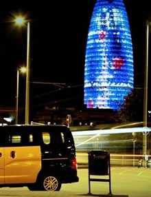 book a taxi in Barcelona, City transfers